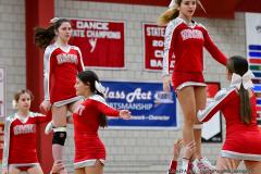 CIAC Girls Basketball; Wolcott vs. Watertown - Photo # 788