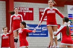 CIAC Girls Basketball; Wolcott vs. Watertown - Photo # 789