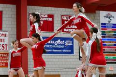 CIAC Girls Basketball; Wolcott vs. Watertown - Photo # 790