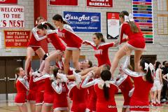 CIAC Girls Basketball; Wolcott vs. Watertown - Photo # 792