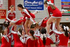 CIAC Girls Basketball; Wolcott vs. Watertown - Photo # 797