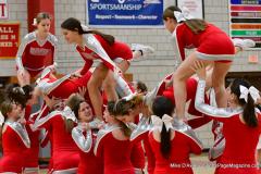 CIAC Girls Basketball; Wolcott vs. Watertown - Photo # 798