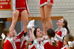 CIAC Girls Basketball; Wolcott vs. Watertown - Photo # 804