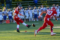 CIAC Football; Wolcott 34 vs. Seymour 27 - Photo #A 422