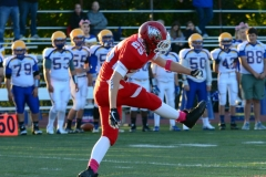 CIAC Football; Wolcott 34 vs. Seymour 27 - Photo #A 423