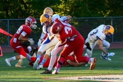 CIAC Football; Wolcott 34 vs. Seymour 27 - Photo #A 426