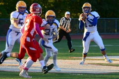 CIAC Football; Wolcott 34 vs. Seymour 27 - Photo #A 439