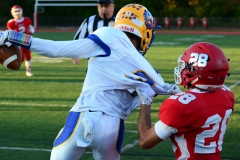 CIAC Football; Wolcott 34 vs. Seymour 27 - Photo #A 449
