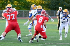 CIAC Football; Wolcott 34 vs. Seymour 27 - Photo #A 476