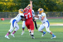 CIAC Football; Wolcott 34 vs. Seymour 27 - Photo #A 478
