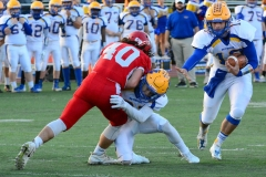 CIAC Football; Wolcott 34 vs. Seymour 27 - Photo #A 493
