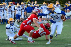 CIAC Football; Wolcott 34 vs. Seymour 27 - Photo #A 495