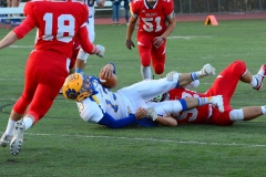 CIAC Football; Wolcott 34 vs. Seymour 27 - Photo #A 500