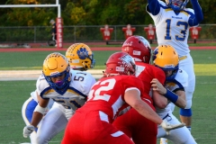 CIAC Football; Wolcott 34 vs. Seymour 27 - Photo #A 505