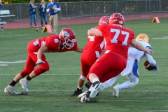 CIAC Football; Wolcott 34 vs. Seymour 27 - Photo #A 510