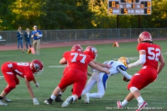 CIAC Football; Wolcott 34 vs. Seymour 27 - Photo #A 511