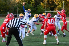 CIAC Football; Wolcott 34 vs. Seymour 27 - Photo #A 525