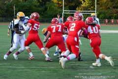 CIAC Football; Wolcott 34 vs. Seymour 27 - Photo #A 531