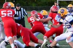 CIAC Football; Wolcott 34 vs. Seymour 27 - Photo #A 533