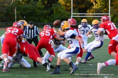 CIAC Football; Wolcott 34 vs. Seymour 27 - Photo #A 534