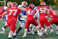 CIAC Football; Wolcott 34 vs. Seymour 27 - Photo #A 539