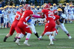 CIAC Football; Wolcott 34 vs. Seymour 27 - Photo #A 545
