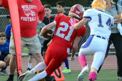 CIAC Football; Wolcott 34 vs. Seymour 27 - Photo #A 550
