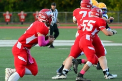 CIAC Football; Wolcott 34 vs. Seymour 27 - Photo #A 556