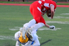 CIAC Football; Wolcott 34 vs. Seymour 27 - Photo #A 574