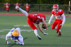 CIAC Football; Wolcott 34 vs. Seymour 27 - Photo #A 575