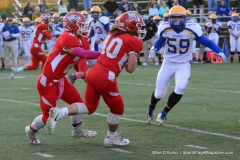 CIAC Football; Wolcott 34 vs. Seymour 27 - Photo #A 584