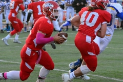 CIAC Football; Wolcott 34 vs. Seymour 27 - Photo #A 585