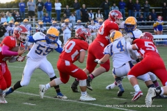 CIAC Football; Wolcott 34 vs. Seymour 27 - Photo #A 586