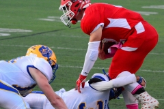 CIAC Football; Wolcott 34 vs. Seymour 27 - Photo #A 596