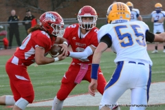 CIAC Football; Wolcott 34 vs. Seymour 27 - Photo #A 620