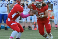 CIAC Football; Wolcott 34 vs. Seymour 27 - Photo #A 629
