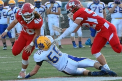 CIAC Football; Wolcott 34 vs. Seymour 27 - Photo #A 632