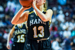 CIAC Girls Basketball Class L Tournament Finals - #4 Hillhouse 39 vs #19 Hand 34 | Photo-15