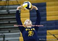 CIAC Girls Volleyball, Class L Finals - RHAM 3 vs. Farmington 1 - Photo # (27)