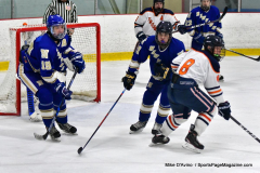 CIAC Ice Hockey; L.H.- H-K, Cogin. 8 vs Newtown 1 - Photo # (392)