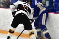 CIACT Ice Hockey D3 QFs; #1 Hand 5 vs. #8 Newtown 0 - Photo # 1035
