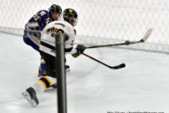 CIACT Ice Hockey D3 QFs; #1 Hand 5 vs. #8 Newtown 0 - Photo # 1150