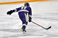 CIACT Ice Hockey D3 QFs; #1 Hand 5 vs. #8 Newtown 0 - Photo # 1259