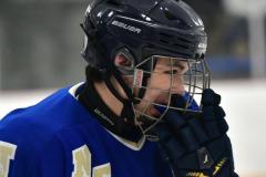 CIACT Ice Hockey D3 QFs; #1 Hand 5 vs. #8 Newtown 0 - Photo # 569