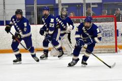 CIACT Ice Hockey D3 QFs; #1 Hand 5 vs. #8 Newtown 0 - Photo # 761