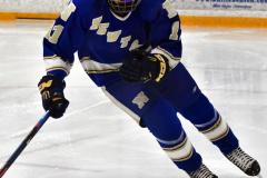 CIACT Ice Hockey D3 QFs; #1 Hand 5 vs. #8 Newtown 0 - Photo # 969