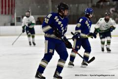 Gallery CIAC Ice Hockey; Northeastern 4 vs. Newtown 3 - Photo # 1362