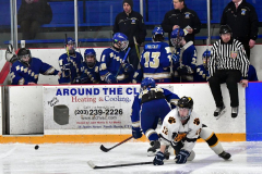 CIACT Ice Hockey D3 QFs; #1 Hand 5 vs. #8 Newtown 0 - Photo # 935