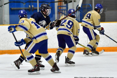 CIAC Ice Hockey; Focused on Newtown 7 vs. Mt. Everett 1 - Photo 480