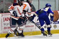 CIAC Ice Hockey; L.H.- H-K, Cogin. 8 vs Newtown 1 - Photo # (422)